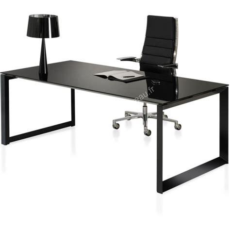 bureau design noir bureau design en verre milly