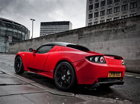 Tesls Car by Tesla Roadster Electric Sports Car Xcitefun Net