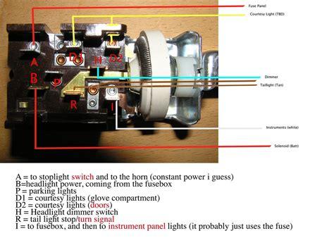 Corvette Headlight Switch Wiring Diagram