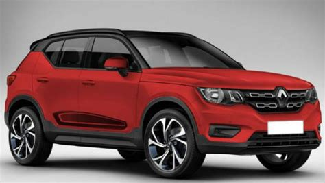 Renault Kwid Based Micro-suv Rendered