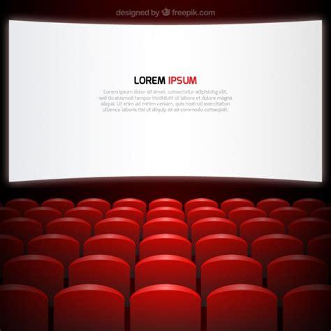 sieges cinema écran de cinéma et de sièges télécharger des vecteurs