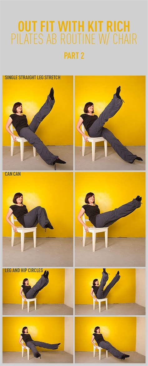 Chair Best For Abs by 25 Best Ideas About Pilates Abs On Pilates