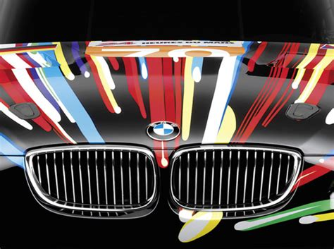 Jeff Koons X Bmw M3 Gt2 Art Car Retired Early From 24