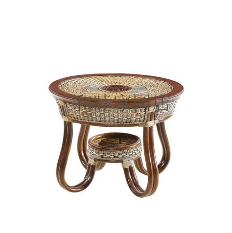 small wicker side table rattan cane rattan furniture tea table tea table small
