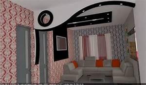 idee faux plafond speciale 2015 plafond platre pinterest With wonderful idee deco bureau maison 2 deco bureau londres