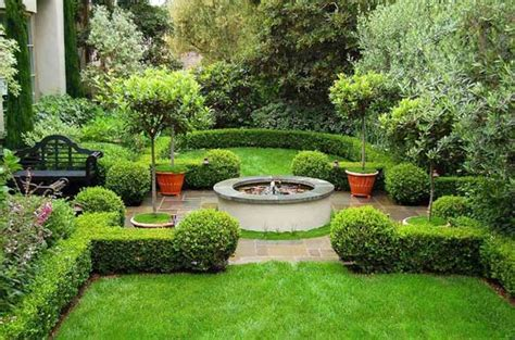 Formal Garden Design Ideas For Small Outdoors  Home N
