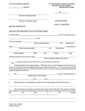 Adoption Papers - Fill Online, Printable, Fillable, Blank
