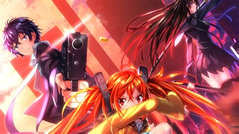 Black Anime Wallpaper - black bullet hd wallpaper and hintergrund 1920x1080