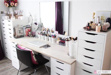 bureau maquilleuse meuble maquillage