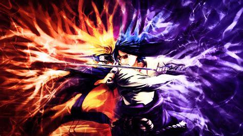 Sasuke And Naruto Wallpaper Naruto Vs Sasuke Wallpaper By Majoraskeyblade On Deviantart