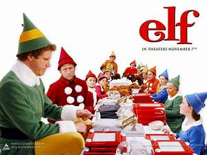 Elf Movie Stills Wallpaper - Comedy Movies Wallpaper