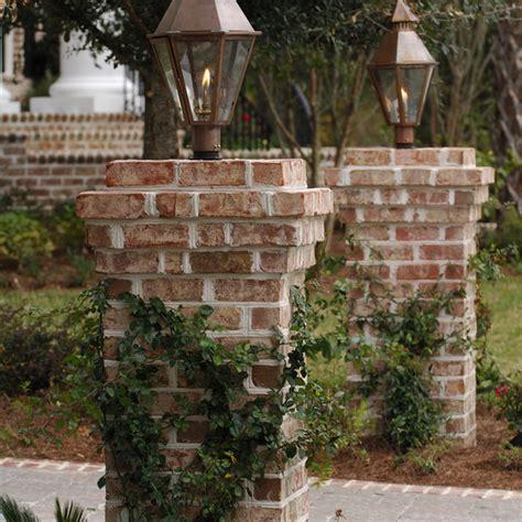 brick l post designs the south battery post mount original copper electric