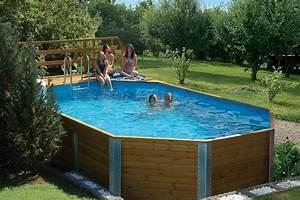Swimmingpool Zum Aufstellen : weka massivholzpool gr 1 714 x 376 cm fs montagen ~ Watch28wear.com Haus und Dekorationen