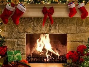 New Year Fireplace