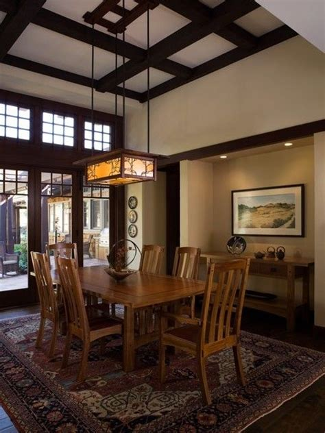 Craftsman Style Dining Room Chandeliers by Best 25 Craftsman Dining Room Ideas On