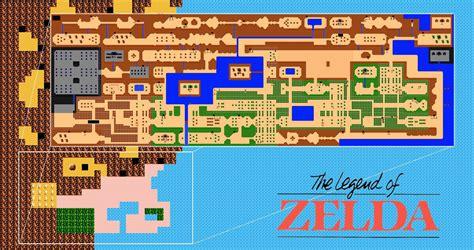 legend  zelda wii  map analysis nintendo