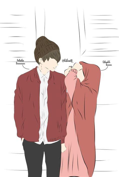 couple terpisah foto profil wa pasangan anime animeindo
