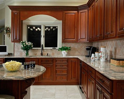 what paint colors look best with cherry cabinets cherry