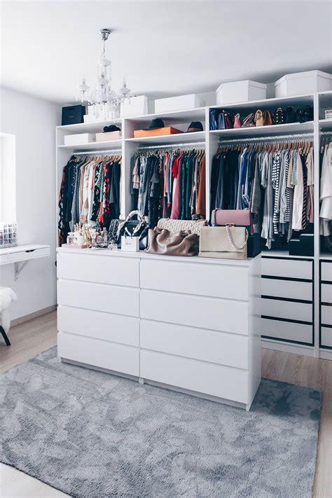 Ankleidezimmer Ikea Ideen so habe ich mein ankleidezimmer eingerichtet und gestaltet
