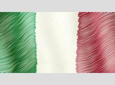 Italian Flag Background Stylized Flag Of Italy With