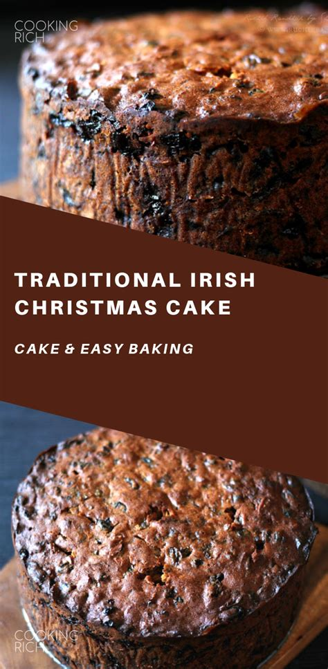 Depending on the family, breakfast is toast; Traditional Irish Christmas Cake | Cake recipes, Healthy cake recipes