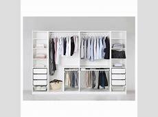 PAX Wardrobe Whitefardal highglosswhite 300x60x201 cm