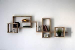 Etagere Salon Design : quelques id es d 39 tag re murale design design obsession ~ Teatrodelosmanantiales.com Idées de Décoration