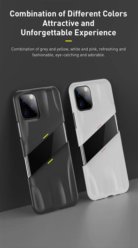 Baseus Hard PC Shockproof Case Support Wireless Charging
