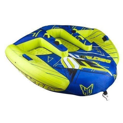 Ho Boat Tubes by Ho Sports Delta3 Boat Towable Delta Wing Design 3 Person