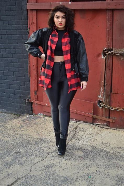 25+ best ideas about Plus Size Grunge on Pinterest   Plus sized outfits Plus size rocker and ...