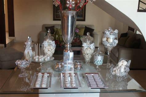 Silberhochzeit Tischdeko Wir Geben  Beispiele