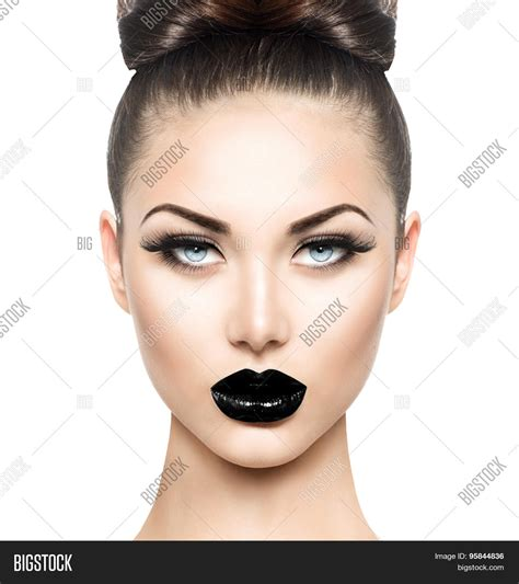 high fashion beauty model girl image photo bigstock