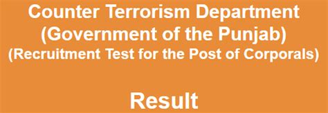counter terrorism bureau nts counter terrorism department corporals entry test
