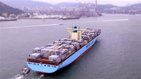 Edith Maersk sailing into Hong Kong on Vimeo