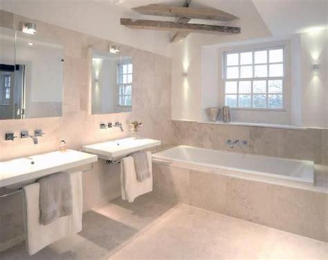 Badezimmer Fliesen Creme by Photo Of Beige White Limestone Tiles Bathroom With