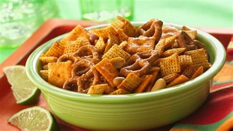 chex mix recipes taco seasoned chex 174 mix 1 2 recipe recipe from betty crocker