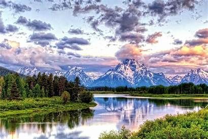 Wallpapers Teton Grand National Park Bend Oxbow