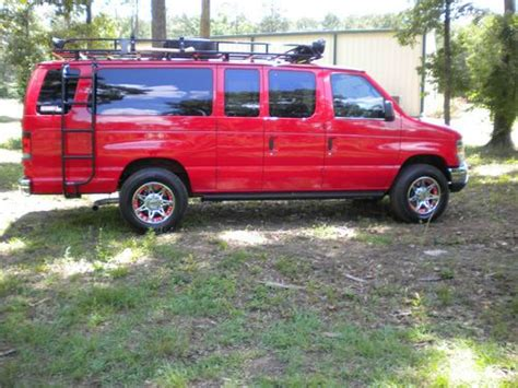 Buy Used 2012 Ford E350 Adventure Van In Longview, Texas