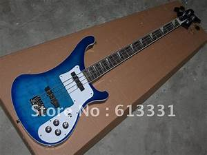 New Arrival 4 Strings sky blue Electric Bass Guitar OEM ...