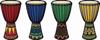 Drum African Clipart Drums Djembe Bongo Africa
