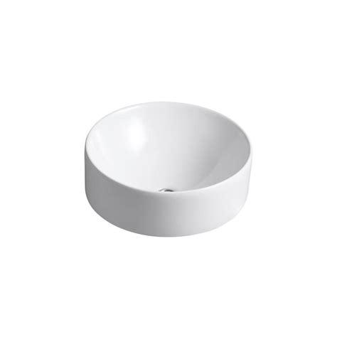 Kohler Vox Sink Drain by Kohler Vox Above Counter Vitreous China Bathroom