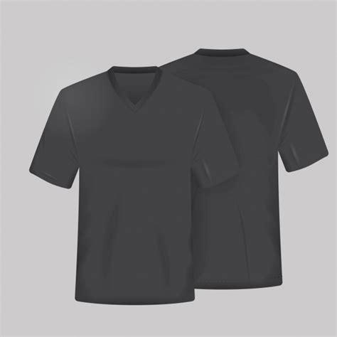 Black Shirt Template Black Shirt Template Vector Free