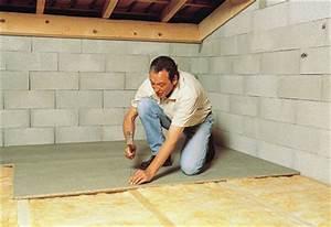 Plaque D Isolation Au Sol : poser ou refaire son sol parquet carrelage et b ton ~ Premium-room.com Idées de Décoration