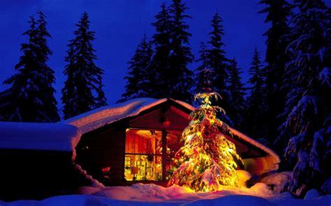 1680x1050 Christmas Night Desktop Pc And Mac Wallpaper