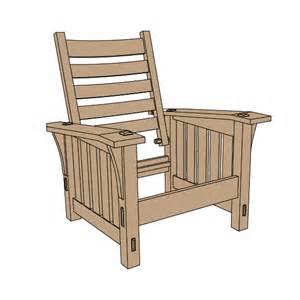 stickley no 369 slant arm morris chair plans