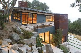Surprisingly House Designs For Sloping by A Home Built On A Slope Interior Design Inspiration