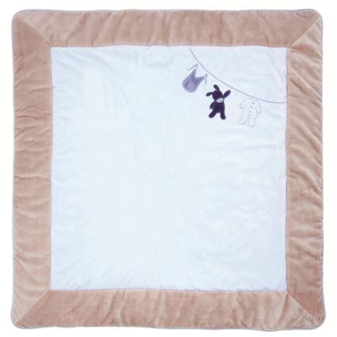 nattou tapis de parc alex et bibou 100x100 cm