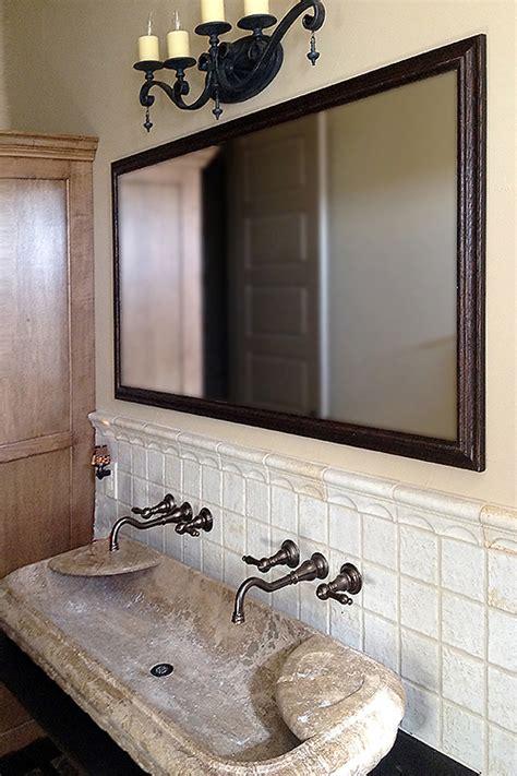 shop framed wall mirrors  framed bathroom mirrors