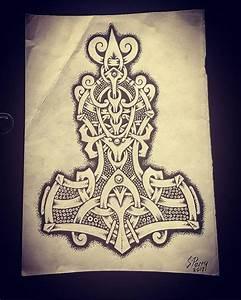 Dessin Symbole Viking : pingl par olivier wildrace sur tatoo tatouage scandinave tatouage viking et tatouage ~ Nature-et-papiers.com Idées de Décoration