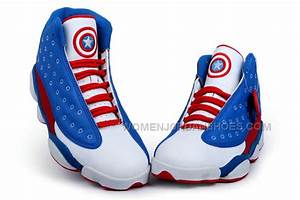 James Size Chart Jordan 13 Captain America Men Basketball Shoes 41 47